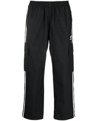 Мужские черные спортивные штаны от adidas