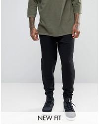 Мужские черные спортивные штаны от Asos