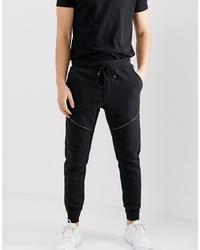 Мужские черные спортивные штаны от Brave Soul