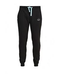 Мужские черные спортивные штаны от Bruebeck