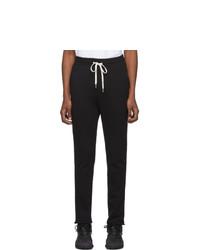 Мужские черные спортивные штаны от John Elliott