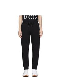 Мужские черные спортивные штаны от McQ Alexander McQueen