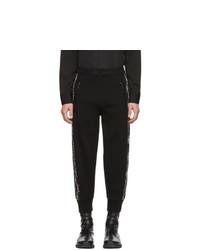 Мужские черные спортивные штаны от Neil Barrett