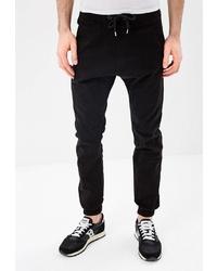 Мужские черные спортивные штаны от OMBRE