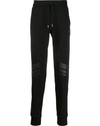 Мужские черные спортивные штаны от Plein Sport
