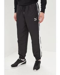 Мужские черные спортивные штаны от Puma