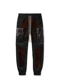 Мужские черные спортивные штаны от Rick Owens