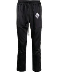 Мужские черные спортивные штаны от RtA