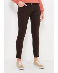Черные узкие брюки от Gas