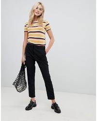 Черные узкие брюки от Pimkie