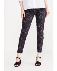 Черные узкие брюки от Zarina