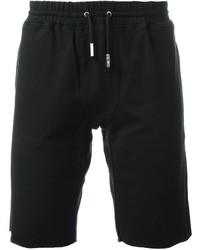 Мужские черные хлопковые шорты от Eleventy