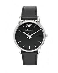 Мужские черные часы от Emporio Armani