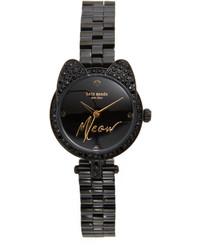 Женские черные часы от Kate Spade