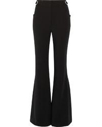 Черные шерстяные брюки-клеш от Proenza Schouler