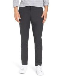 Черные шерстяные брюки чинос
