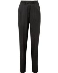 Женские черные шерстяные классические брюки от Giuliva Heritage Collection