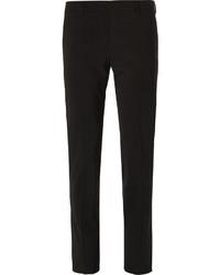 Мужские черные шерстяные классические брюки от Prada