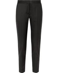 Женские черные шерстяные классические брюки от Stella McCartney
