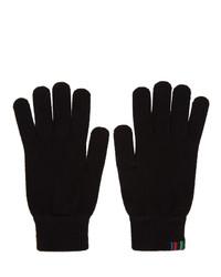 Мужские черные шерстяные перчатки от Ps By Paul Smith