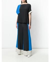 Черные широкие брюки от Pierantoniogaspari