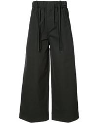Женские черные широкие брюки от Craig Green