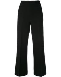 Черные широкие брюки от Fendi