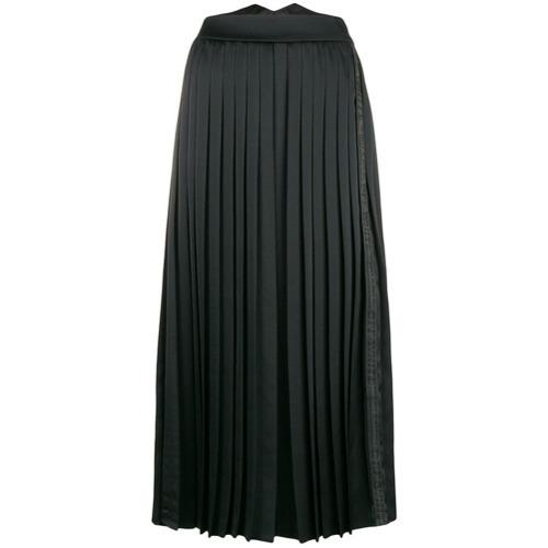 Черные широкие брюки от Off-White