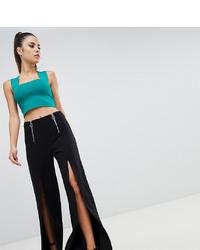 Черные широкие брюки от Parallel Lines