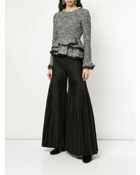 Черные широкие брюки от Huishan Zhang