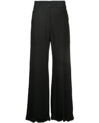 Черные широкие брюки от Taylor