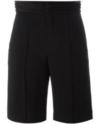Женские черные шорты-бермуды от Chloé