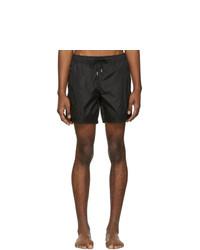Черные шорты для плавания от Moncler