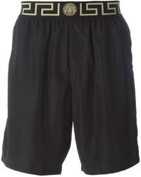 Черные шорты для плавания от Versace