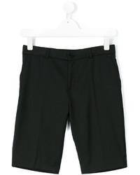 Детские черные шорты для мальчику от Paul Smith