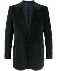 Мужской черный бархатный пиджак от A.N.G.E.L.O. Vintage Cult