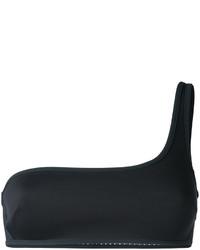 Черный бикини-топ в сеточку от Stella McCartney