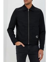 Мужской черный бомбер от Calvin Klein Jeans