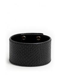 Черный браслет от Mango