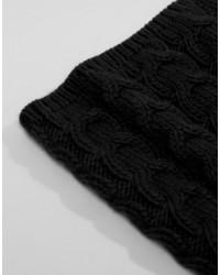 Мужской черный вязаный шарф от French Connection   Где купить и с ... d28c12cda62