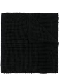 Мужской черный вязаный шарф от Dolce & Gabbana