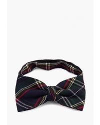 Мужской черный галстук-бабочка в шотландскую клетку от Casino