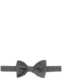 Мужской черный галстук-бабочка с принтом от Lanvin