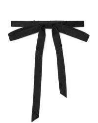 Мужской черный галстук-бабочка от Gucci