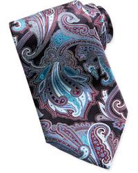 """Черный галстук с """"огурцами"""""""