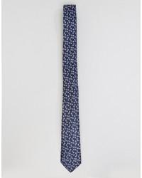 Мужской черный галстук от Asos