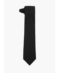Мужской черный галстук от Emporio Armani