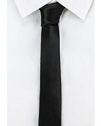 Мужской черный галстук от Mango Man