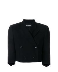 Женский черный двубортный пиджак от Ann Demeulemeester
