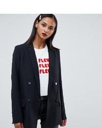 Женский черный двубортный пиджак от Vero Moda Tall